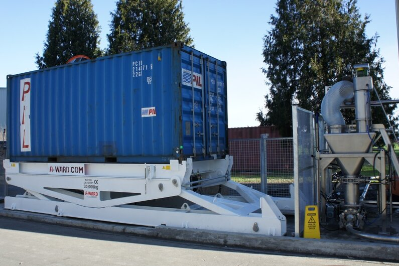 A-Ward Container Entlader