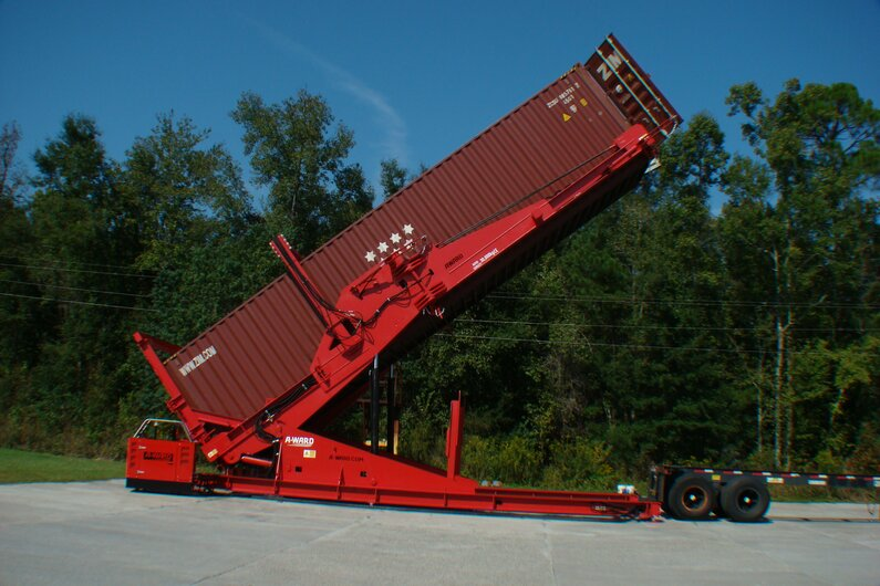 A-Ward Container Belader
